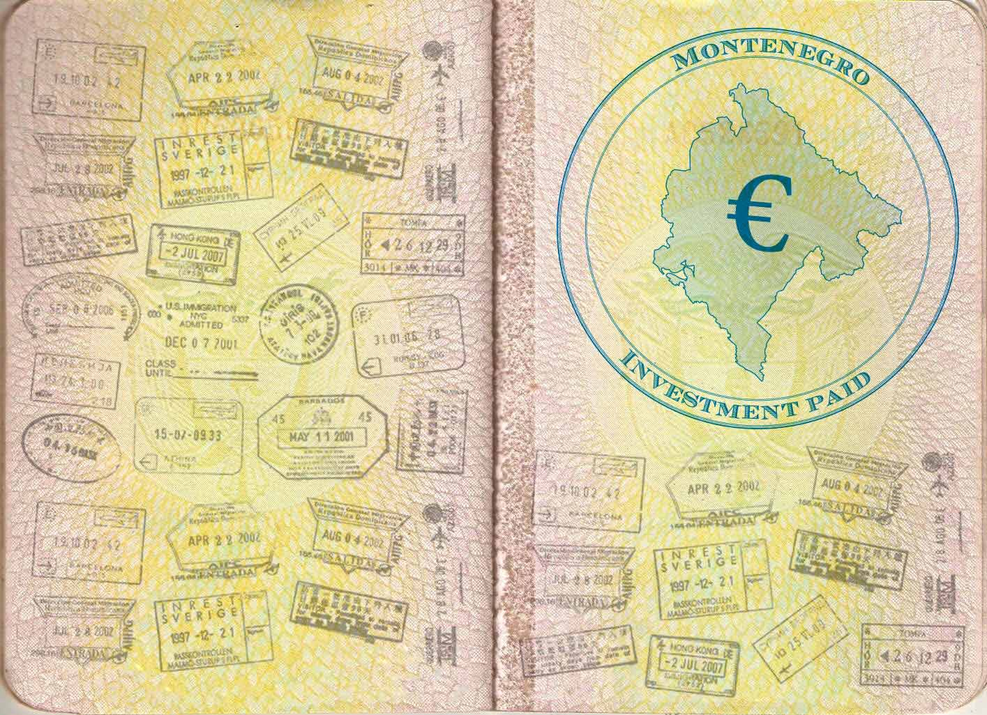 Currency of Montenegro, how much money to bring 7
