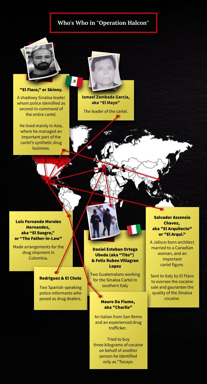 Operación Halcón: los movimientos del cártel de Sinaloa en Europa - OCCRP