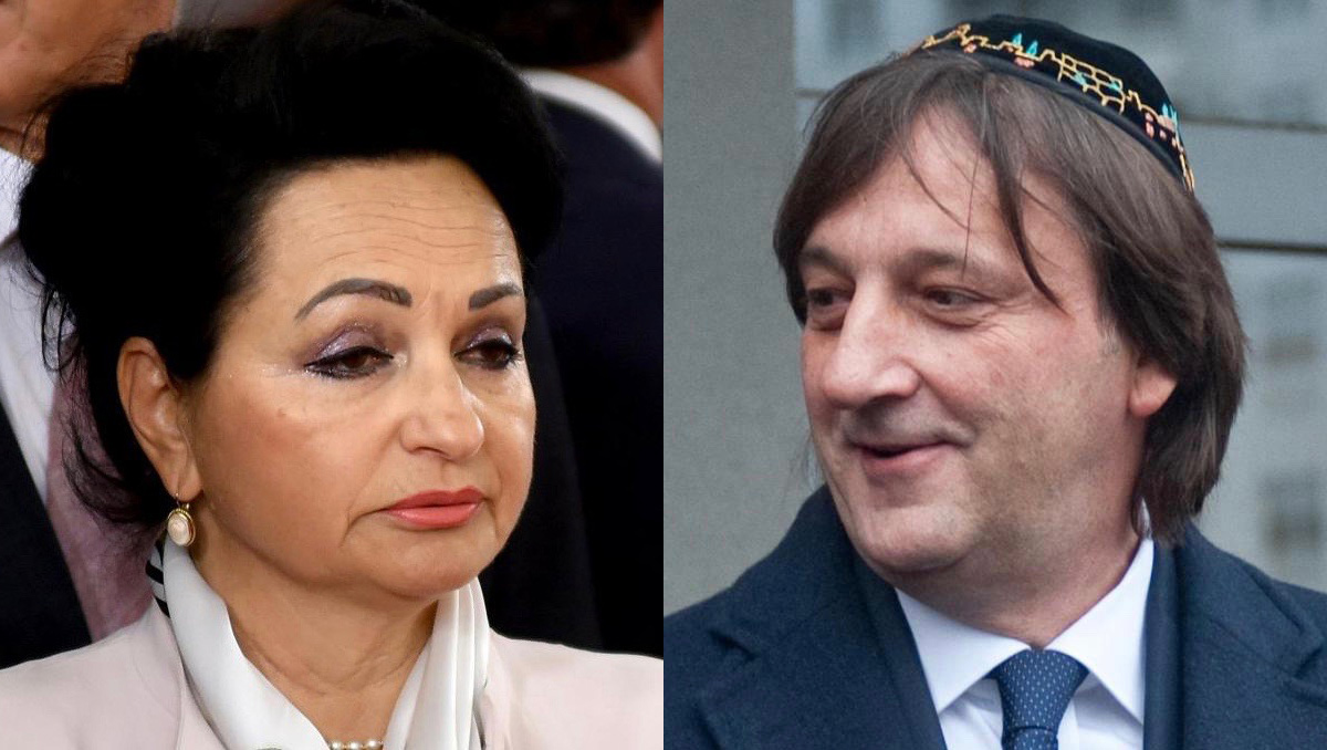 Headshot images of Vesna Medenica and Zoran Bećirović