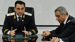 Mehman Gojayev and his boss Ilgar Abbasov