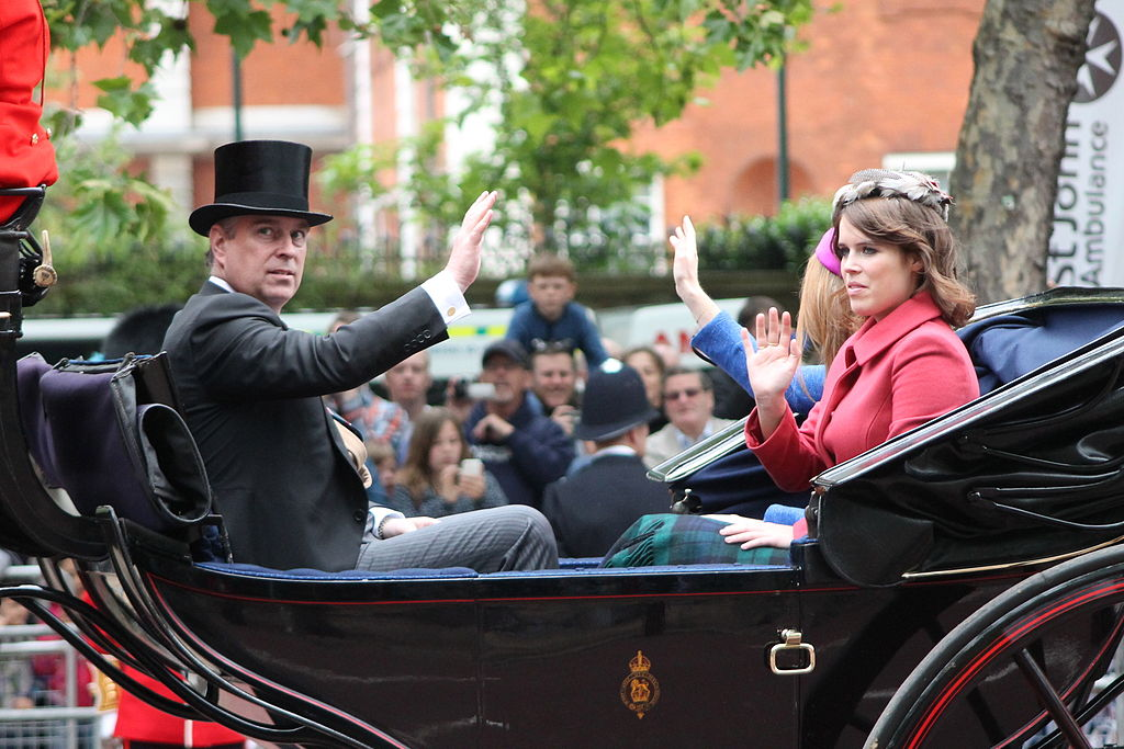 Prince Andrew and Princess Eugenie (Photo: Wikicommons)