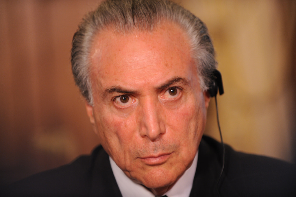 Brazil federal police accuse president of getting bribes
