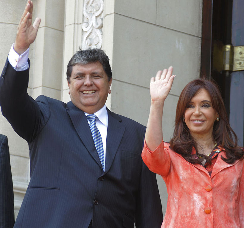 Peruvian Former President Shoots Himself Over Bribery Investigation