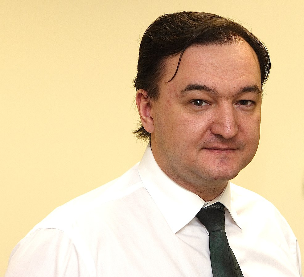 In 2008, Sergei Magnitsky was imprisoned in Moscow for having made allegations of corruption against officials within the Russian Ministry of the Interior. He died in 2009 (Photo: VOA, CC SA-BY 3.0)