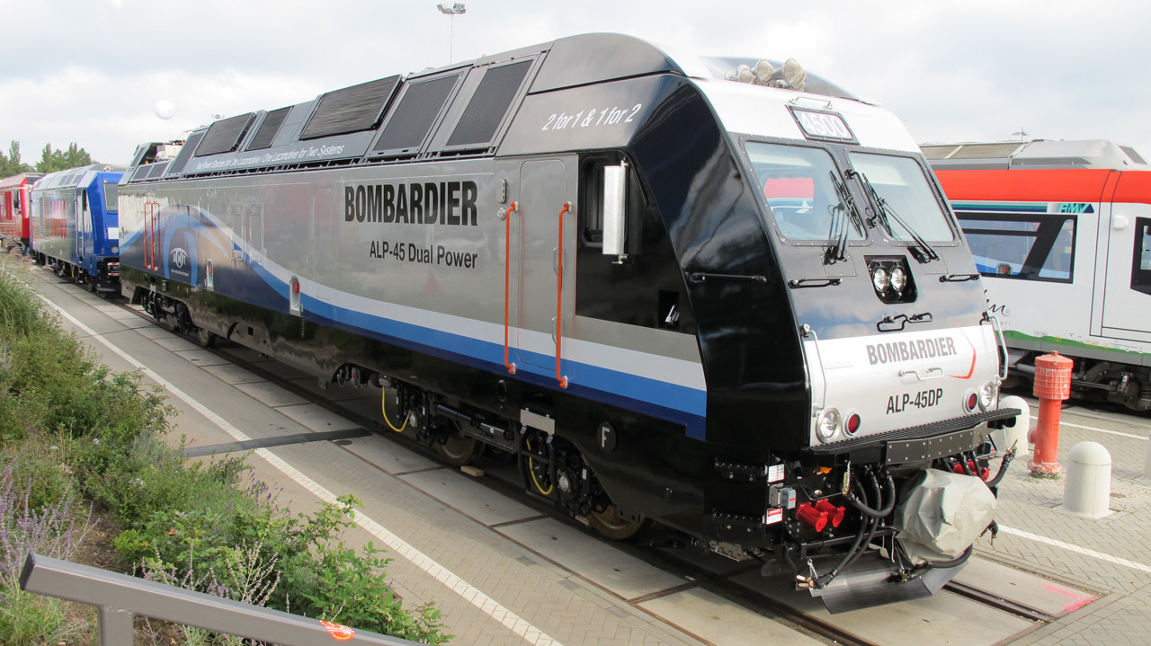 Bombardier ALP-45DP at Innotrans 2010
