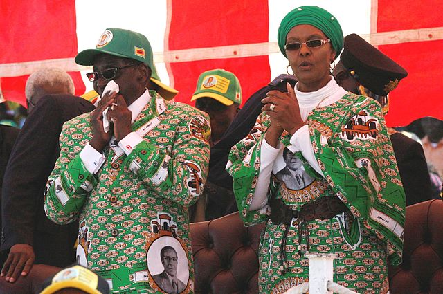 Grace Mugabe under watch for Ivory smuggling