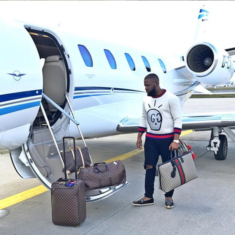 Alleged Cyber-Godfather Hushpuppi Arrives in US
