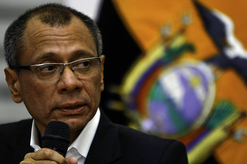 Ecuador's vice-president sentenced to six years in prison for corruption