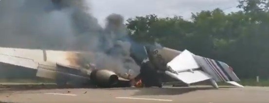 Narco-Plane Crash Lands in Mexico