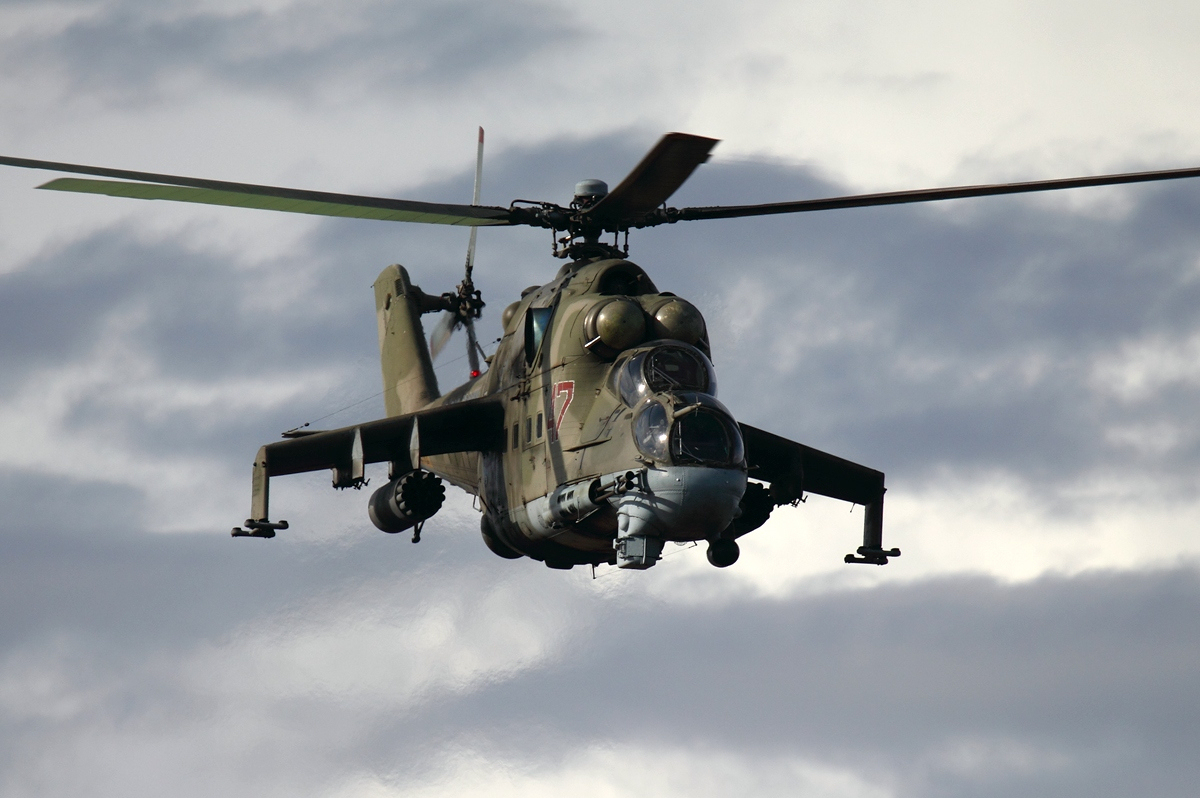 Russian Air Force Mil Mi 24P Dvurekov 4