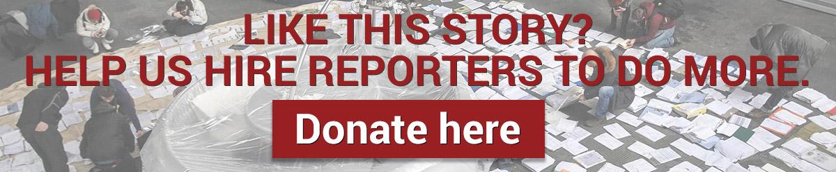donate to OCCRP