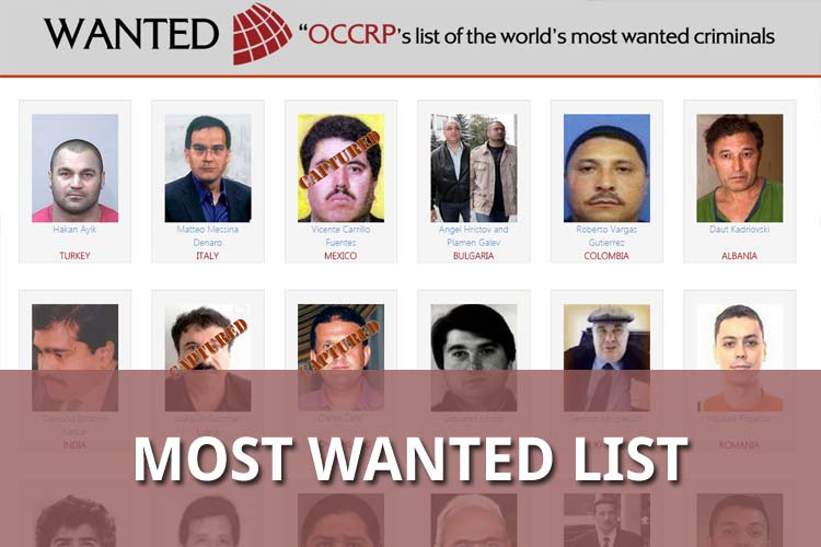 Most Wanted List