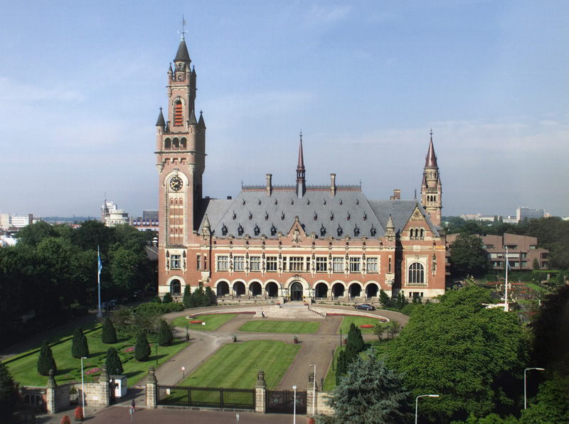 The International Court of Justice in The Hague. (Credit: International Court of Justice)
