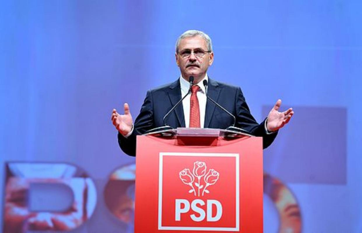 Liviu Dragnea; Photo by Partidul Social Democrat (CC BY 2.0)