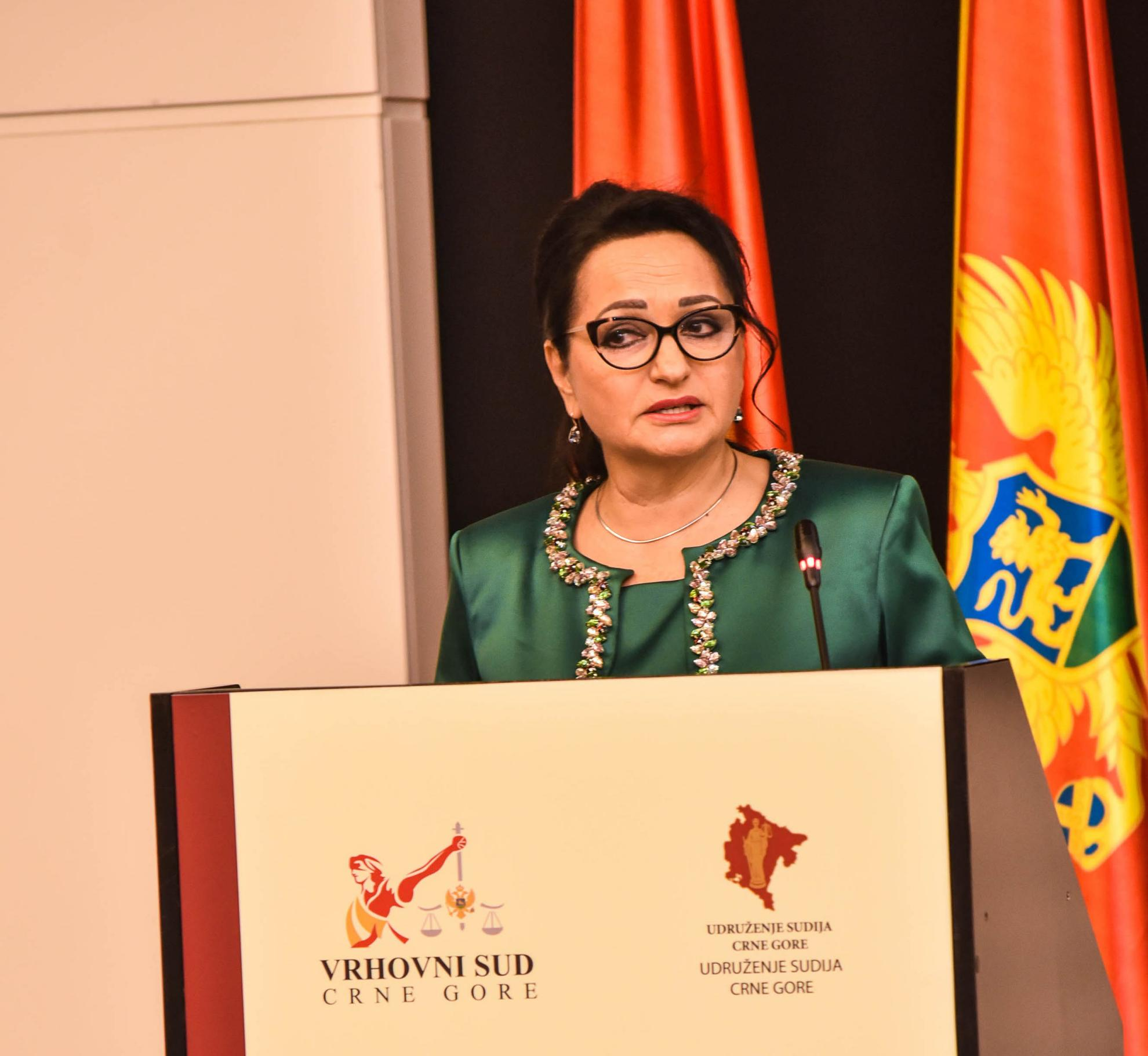 Montenegro Supreme Court Judge Vesna Medenica (CREDIT: Supreme Court of Montenegro)