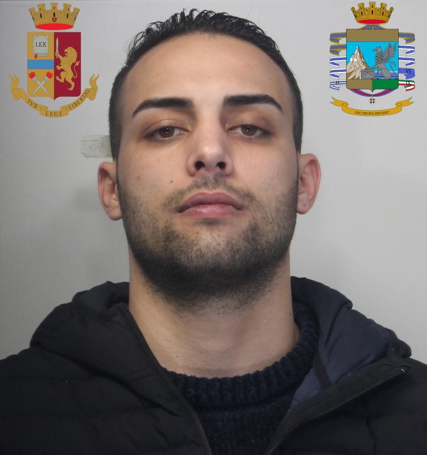 Domenico Pelle in a photo released by the Italian Polizia di Stato.