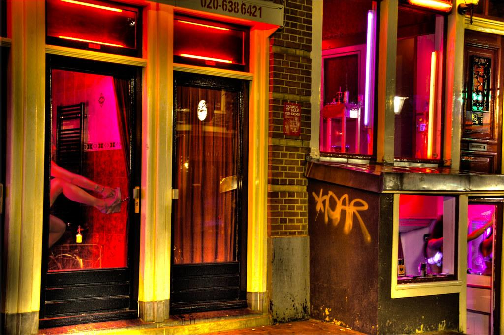 Window prostitution in Amsterdam's red-light district, which is similar to the one in The Hague. (Credit: Trey Ratcliff/CC BY-NC-SA 2.0)