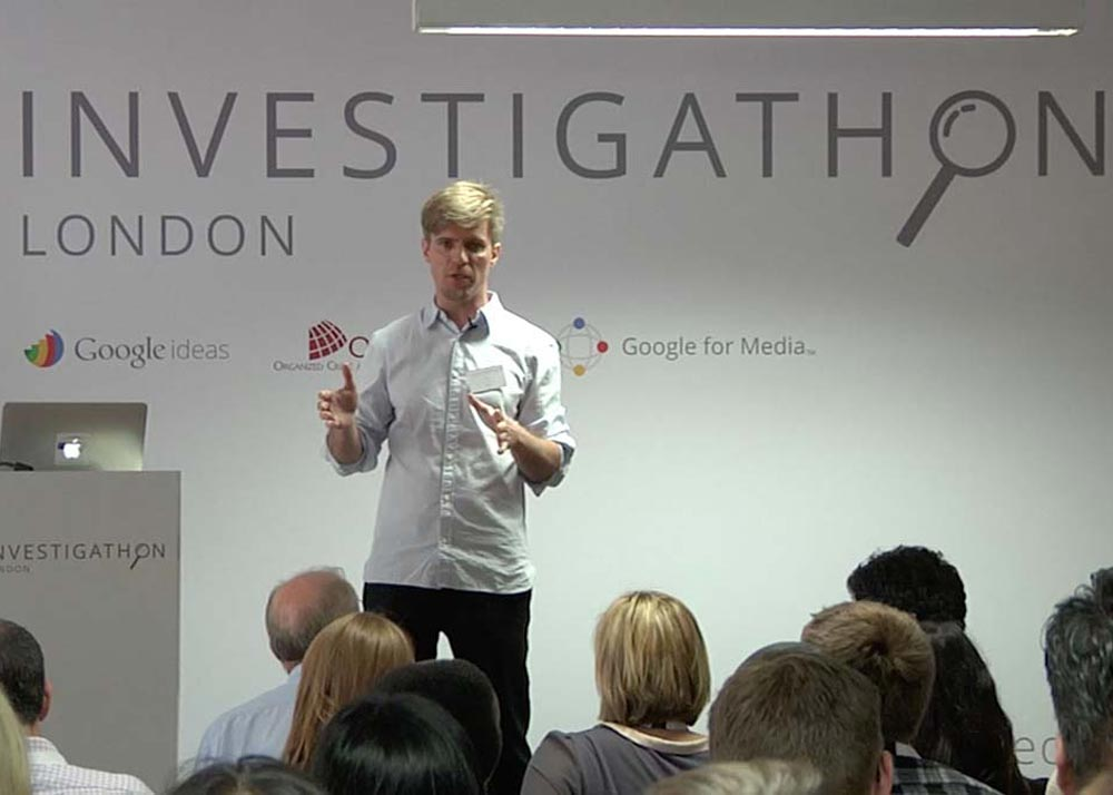 "OCCRP and Google Ideas Host Inaugural London ""Investigathon"""
