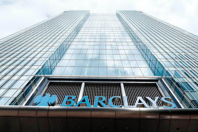Barclays Bank's London headquarters
