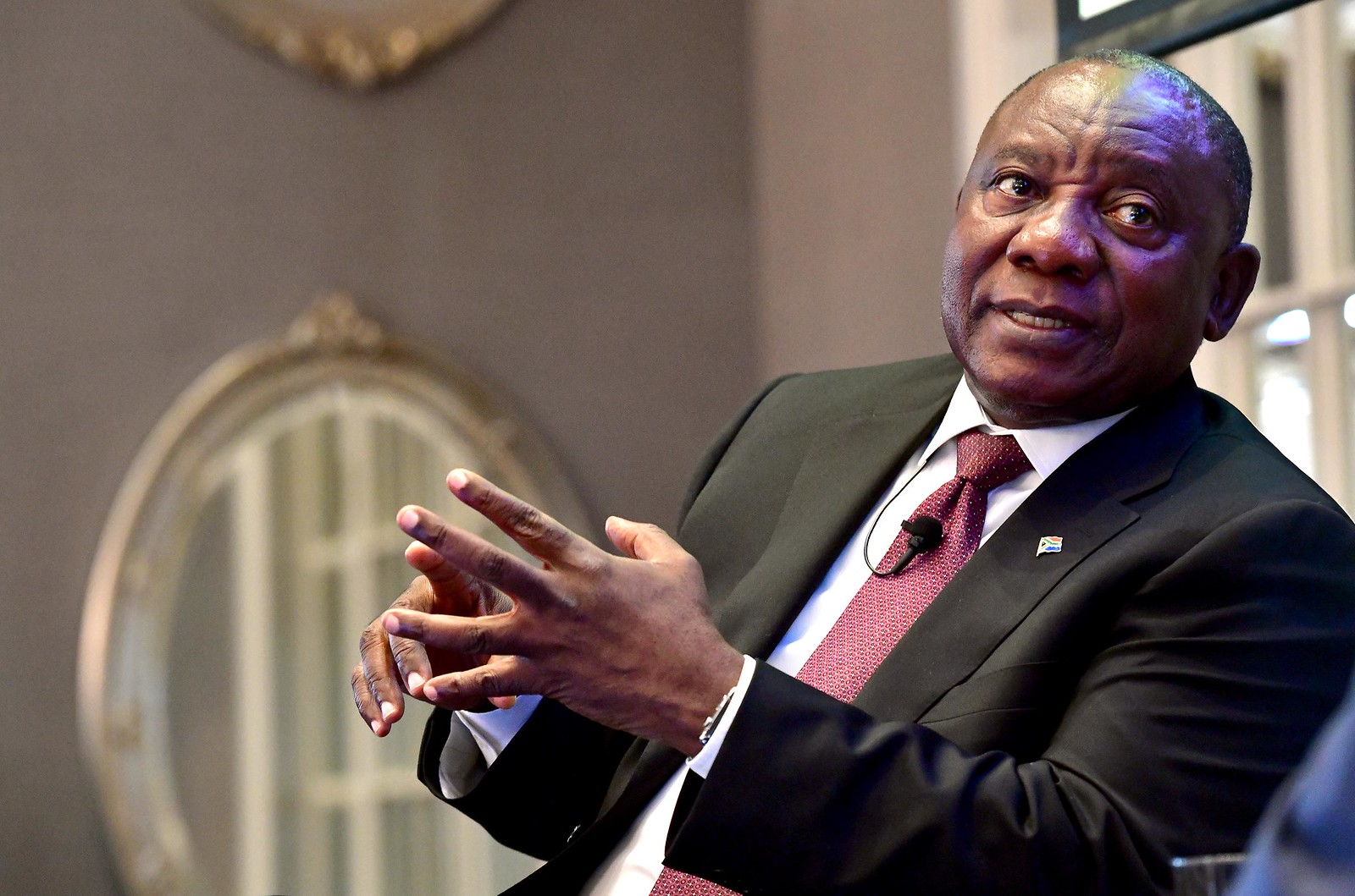 President Cyril Ramaphosa was accused of failing to disclose funding for his election campaign