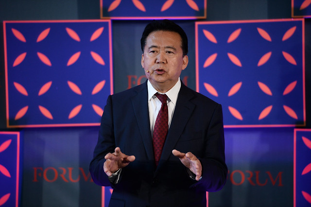 China: Former Interpol President Pleads Guilty to Corruption