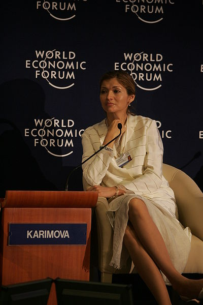 400px-Gulnora I. Karimova - World Economic Forum on the Middle East 2009