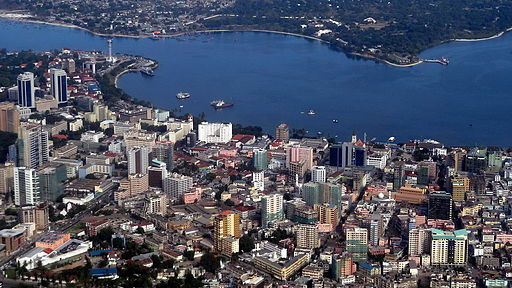 512px-Dar es Salaam at a birds view copy
