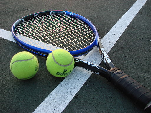 Tennis Racket and Balls (From: Vladsinger)