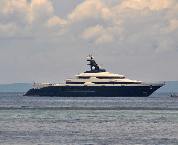 Equanimity, Jho Low's yacht (before its seizure).