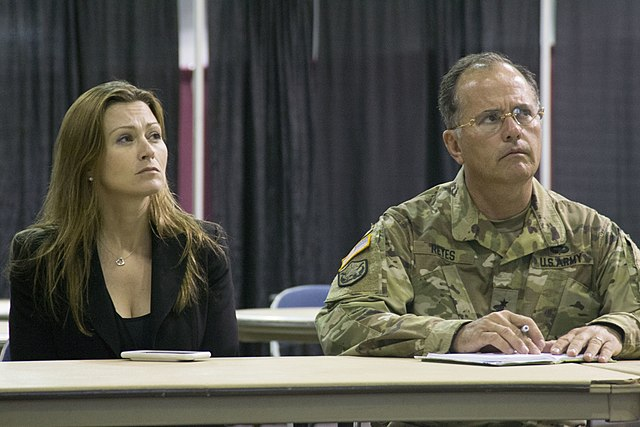 Former Puerto Rico Secretary of Education Julia Keleher (New Mexico National Guard)