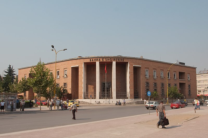 800px-National Bank of Albania in Tirana Albania 20070720 img 1467