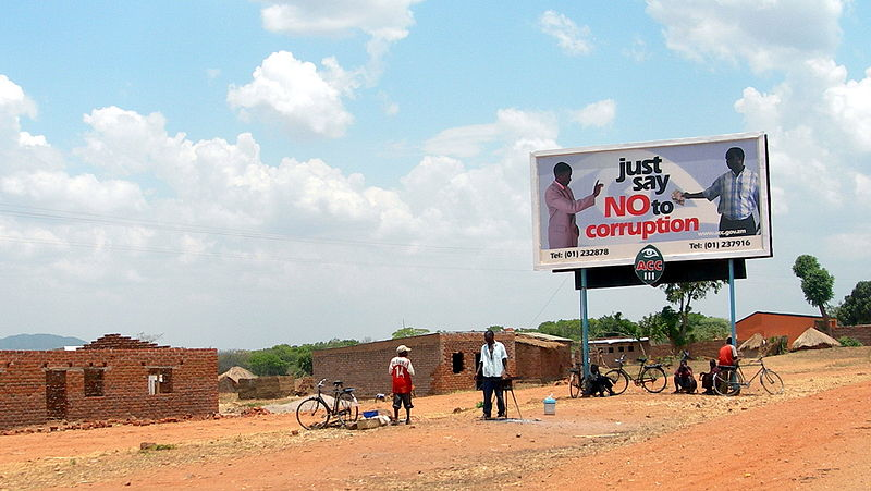 800px-Say no to bribes in Chipata Zambia