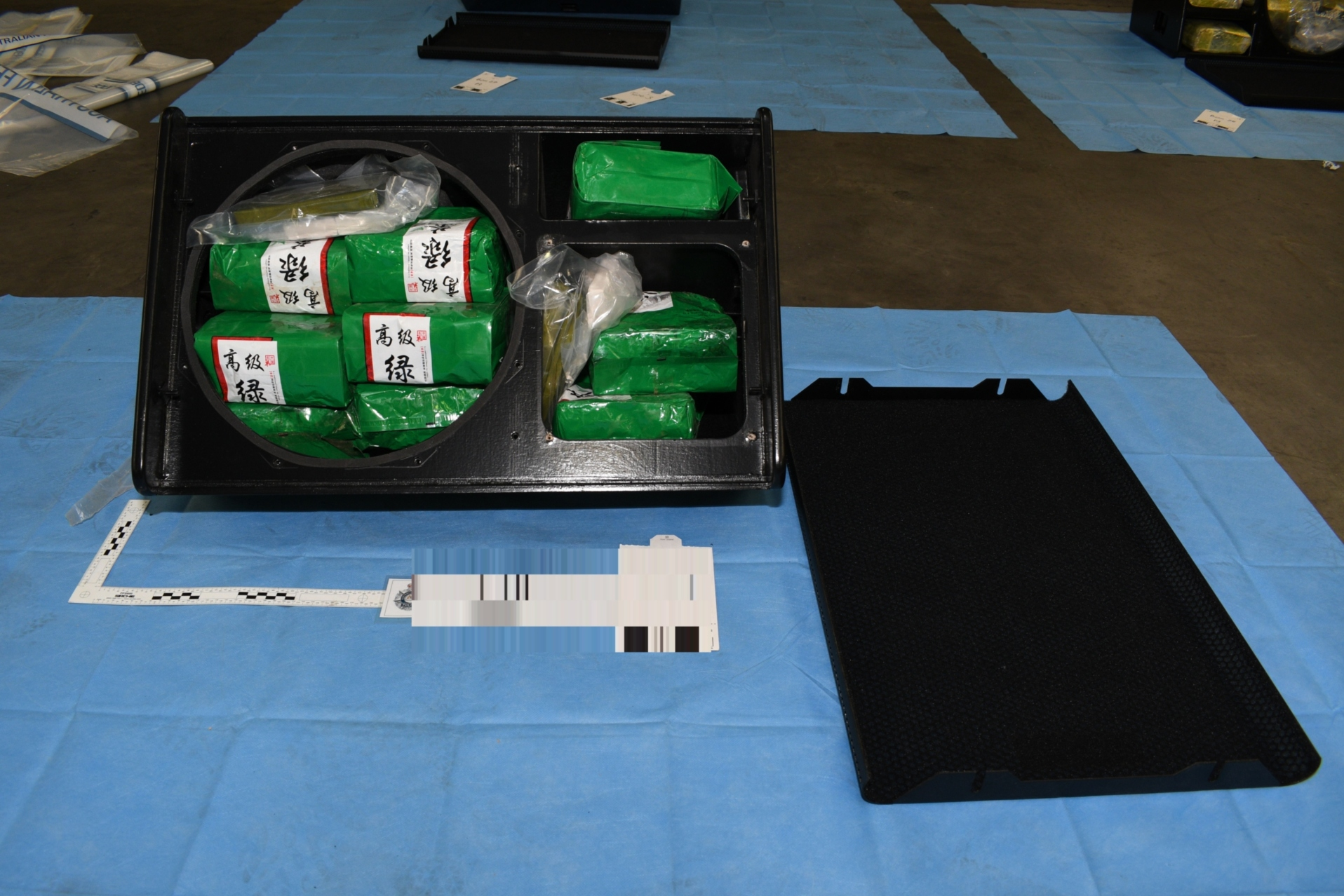 Stereos containing meth (Australian Federal Police)