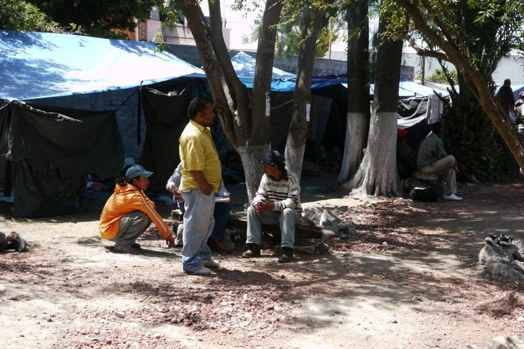 A Migrant Shelter in Mexico