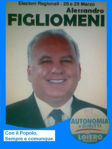 Figliomeni Election Poster (From: Facebook)