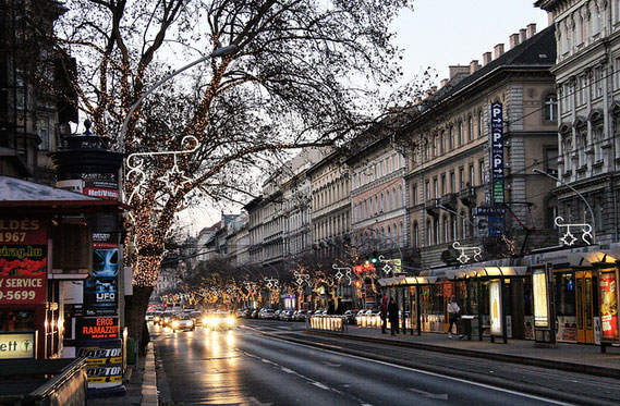 Andrássy Avenue at the heart of Budapest