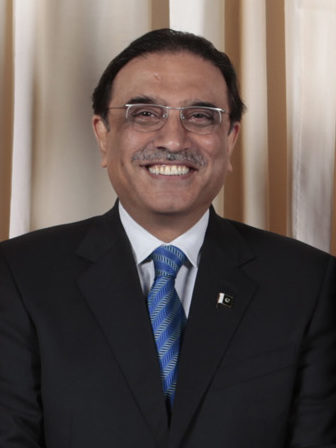 Asif Ali Zardari  (source: Lawrence Jackson)