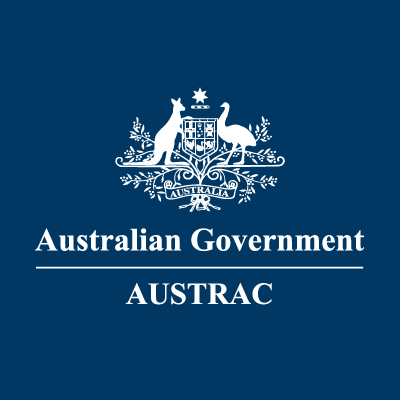 AUSTRAC's logo. (Source: Australian Transaction Reports and Analysis Centre Twitter account)
