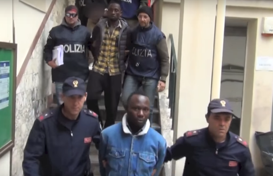 Black Axe members are arrested (Polizia di Stato)