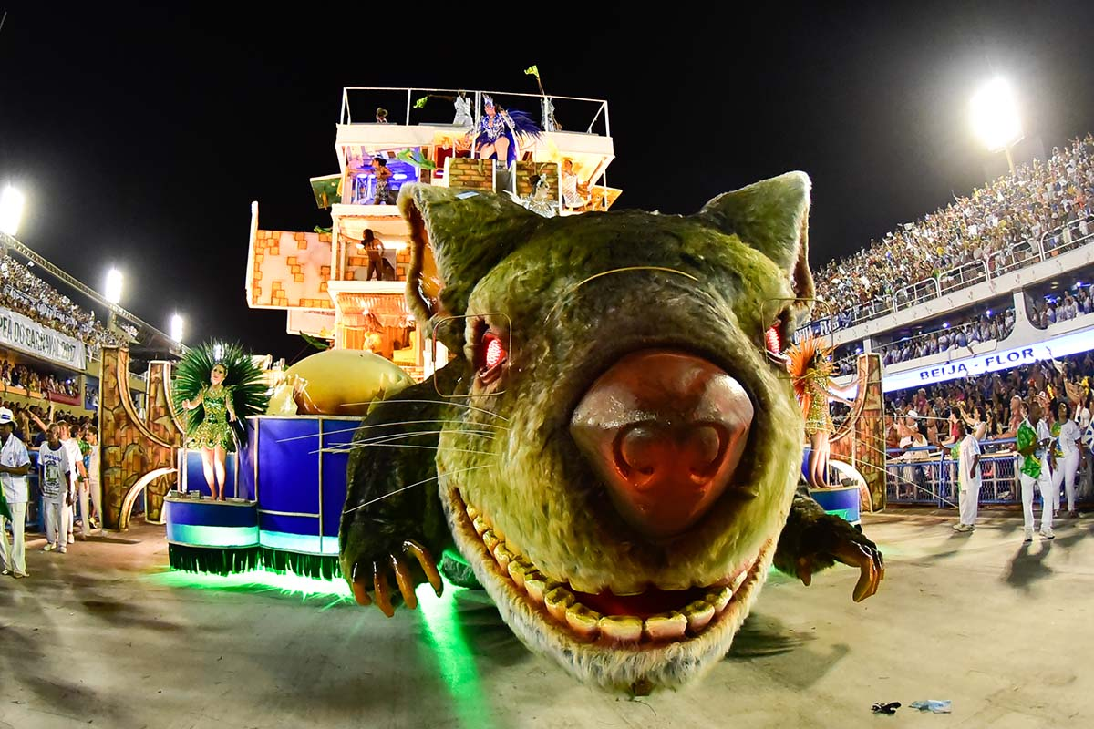 Brazil's Monsters Come Out During Carnival