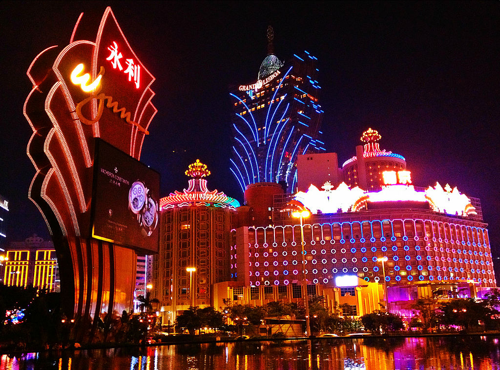 "Macau has sometimes been called ""the gambling capital of the world"" (Photo: Brenden Brian CC BY-SA 3.0)"