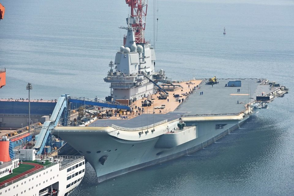 Chinese aircraft carrier CSIC