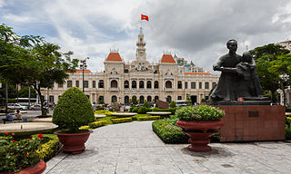 City Hall Ho Chi Minh Vietnam