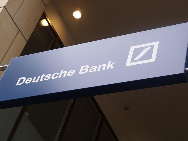 German prosecutors raid Deutsche Bank