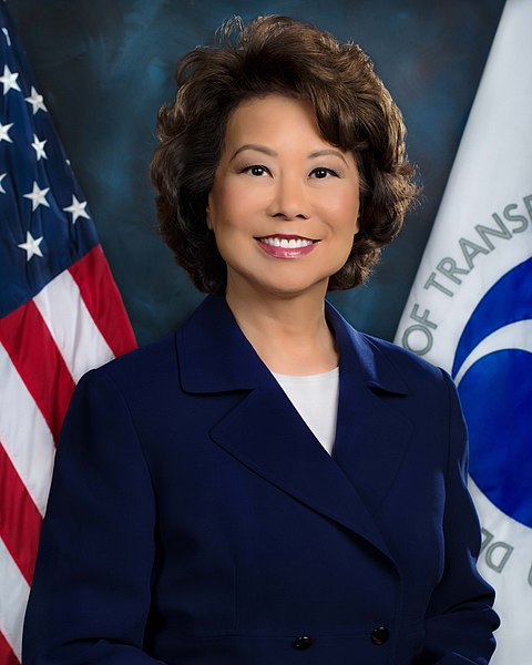 Elaine Chao (source: US Department of Transportation)