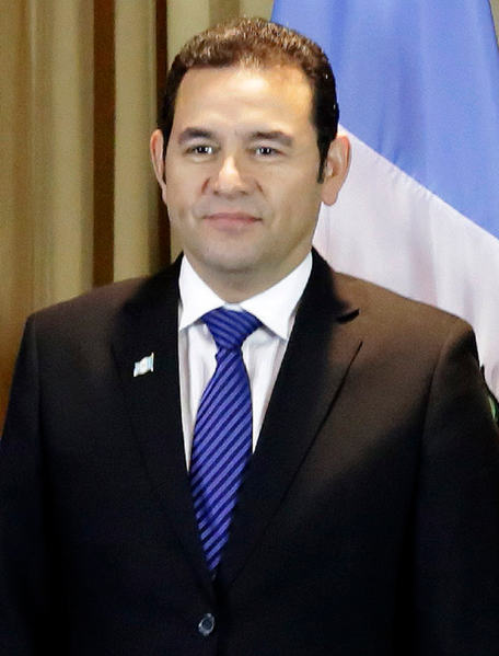 Guatemalan President Jimmy Morales (Photo: Presidency of the Republic of El Salvador, CC0 1.0)