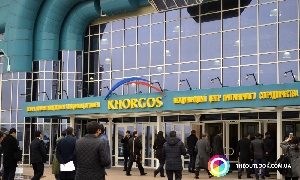 Khorgos ICBC is an economically important free trade zone between China and Kazakhstan. (Photo by: theoutlook.com.ua)