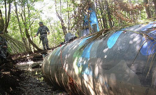 Narco submarine seized in Ecuador