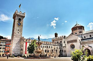 Assets valued at 5 million Euro were also seized in the raid in Trento. (source: Wikimedia Commons)