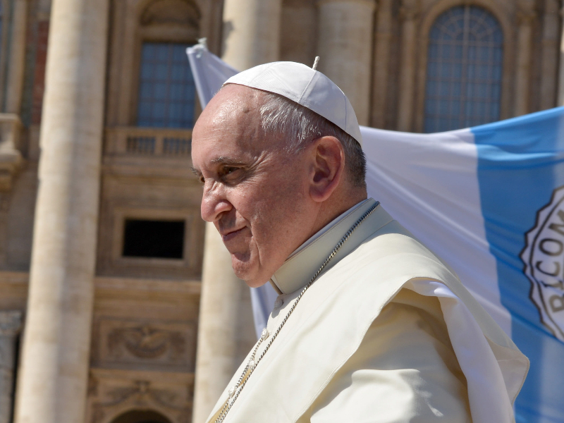 Pope Francis flag